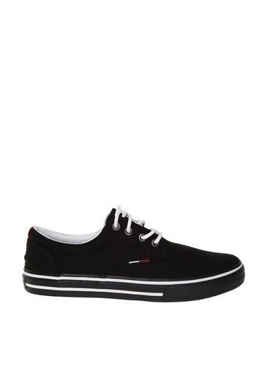Tommy Hilfiger Tommy Hilfiger Textile Sneaker Siyah